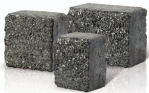 Kostka K-1 frezowana granit czarny