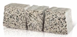 Kostka brukowa płukana antracyt granit K-23
