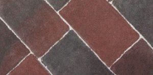 Kostka brukowa starobruk rustical melanż ciemny 6cm
