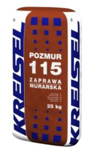 Zaprawa murarska Pozmur 115  (25 kg)