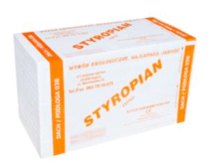 Styropian – spadki EPS 80-038